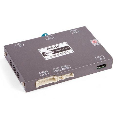 Адаптер подключения камеры переднего вида для BMW с системой CIC  HIGH(NBT