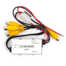 Car Video Distribution Amplifier 1 to 3 Channels  - Short description