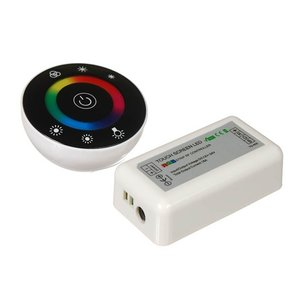 LED Controller with Round Touch Remote HTL-046 (RGB, 5050, 3528, 216 W)