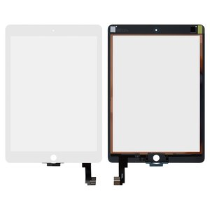 Touchscreen for Apple iPad Air 2 Tablet, (white)