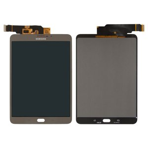 LCD for Samsung T715 Galaxy Tab S2 LTE Tablet, (bronze, with touchscreen)