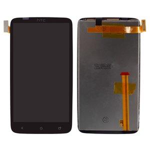 Pantalla LCD para celulares HTC G23, S720e One X, X325 One XL, negro, con cristal táctil