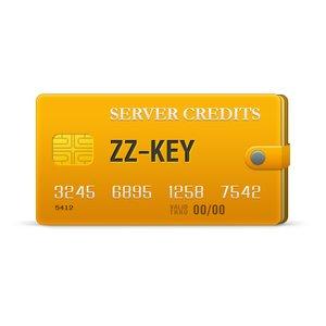 ZZ-Key серверные кредиты