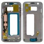 Средняя часть корпуса Samsung G930F Galaxy S7, черная