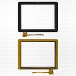 """Сенсорный экран China-Tablet PC 8""""; Assistant AP-803; Dex iP800, 8"""", 150 мм, 198 мм, 10 pin, емкостный, черный, #300-L4072A-B00-V1.0/TOPSUN_D0026_A1"""