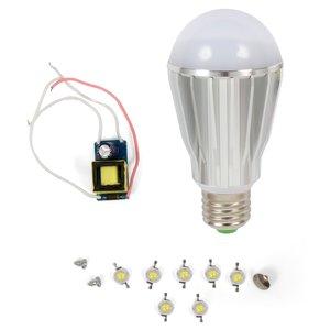 Комплект для сборки LED-лампы SQ-Q17 E27 7 Вт – теплый белый