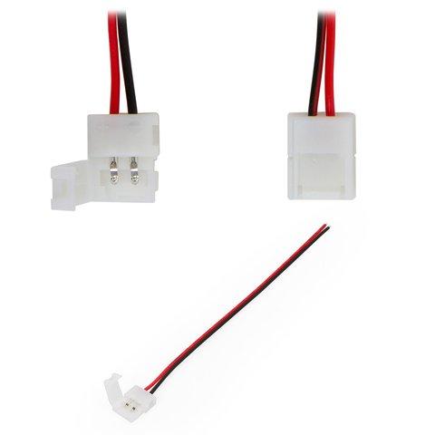 З'єднувальний кабель 2 контактний  для світлодіодних лент SMD3528 2835
