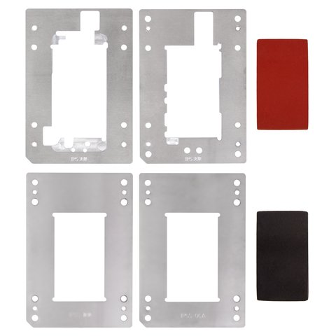 Набір фіксаторів дисплейного модуля для YMJ 3 01, Apple iPhone 5S, iPhone 5SE