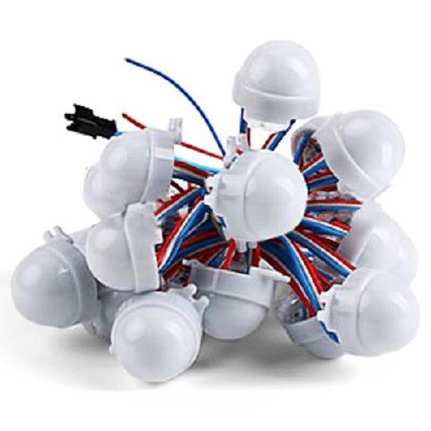Комплект LED модулів WS2811, 3 світлодіоди SMD5050, 30 мм, IP67, 20 шт.