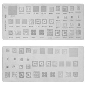 BGA Stencil A90 for China-phone universal Cell Phone (CPU MTK), 35 in 1)